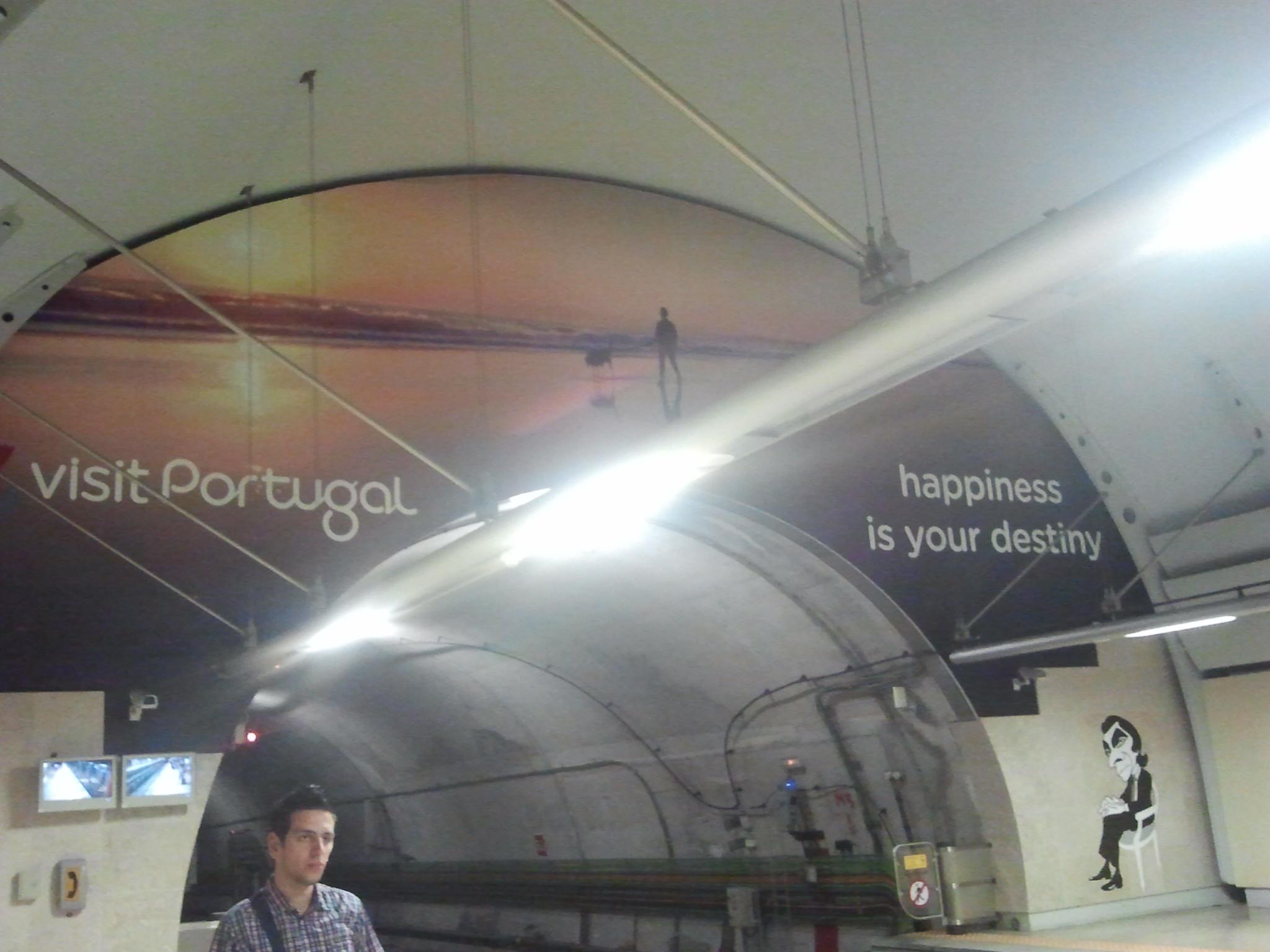 Metrou Aeroporto Lisboa