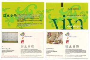 Carduri Viva Viagem (sursă poză: http://www.flickr.com/photos/41076825@N02/7663954888/)