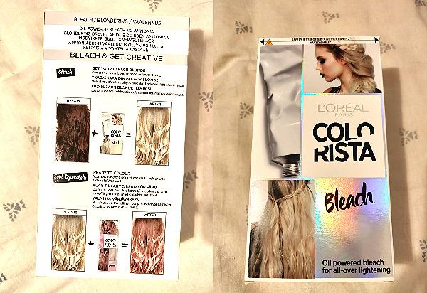 vopsea pentru decolorare kit LOreal Colorista Bleach