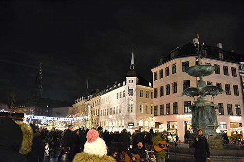 Târgul de Crăciun în Copenhaga