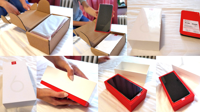 Unboxing One Plus 6