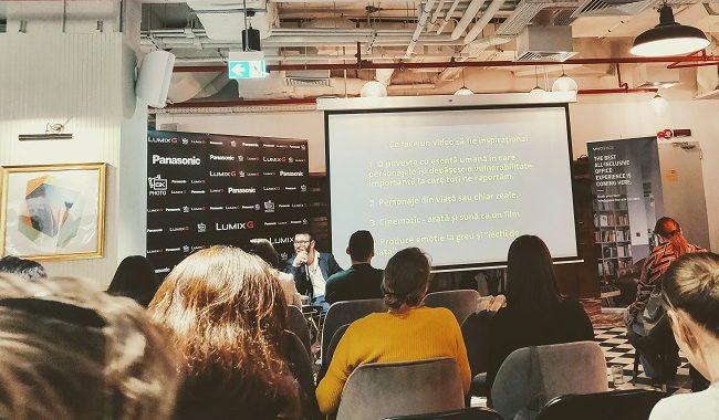 cum a fost la workshopul de video inspirațional de Tedy Necula la Mindspace