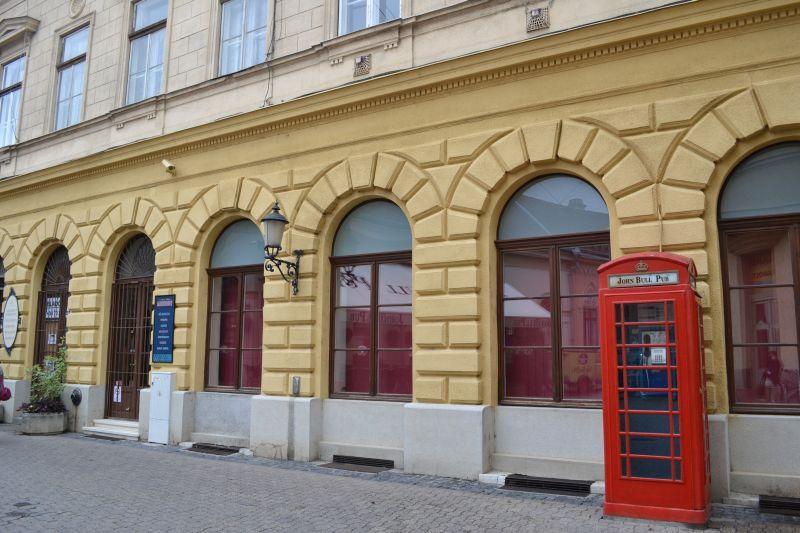 cabina telefonica John Bull Pub