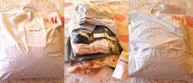 cum s-a livrat comanda online H&M
