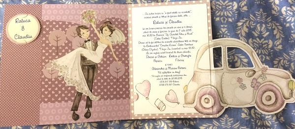 invitație nunta noastră