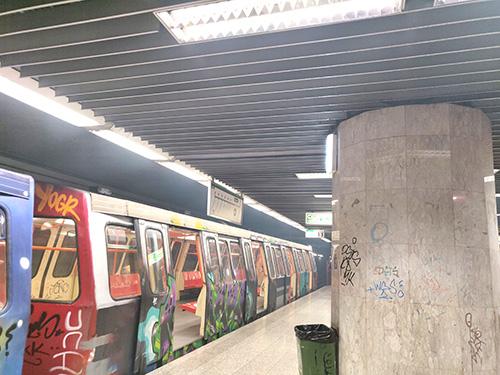 incident cu fum la metrou