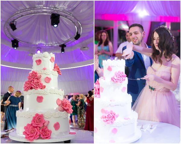 tortul mirilor la nunta noastră
