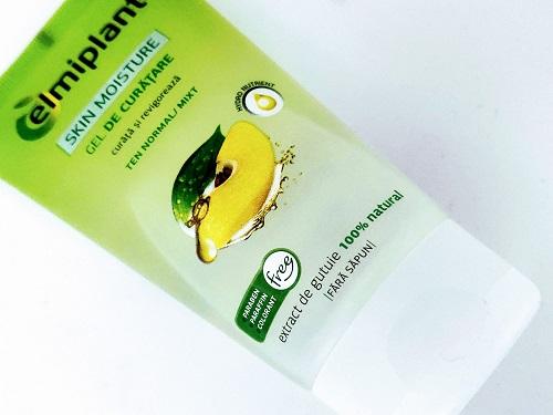 gel de curățare cu gutuie Elmiplant Skin Moisture