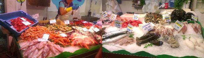 piața de pește Sant Antoni din Barcelona