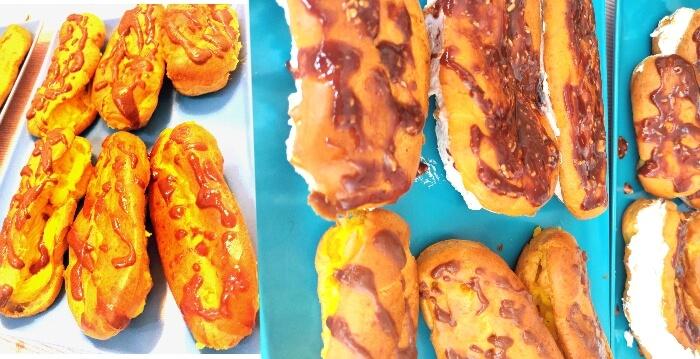ecleruri de vară cu creme de fructe răcoritoare