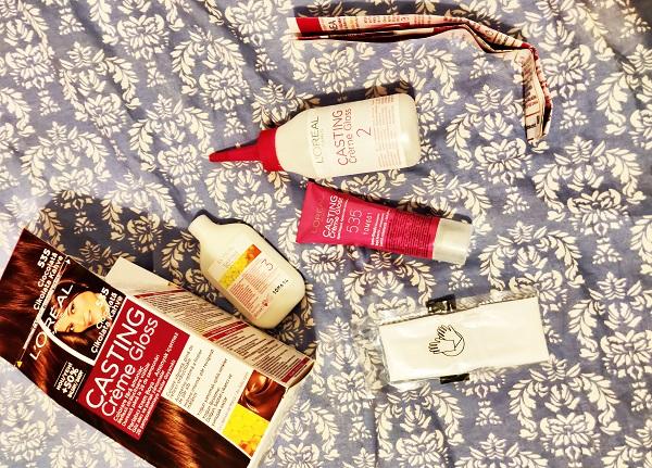 componența kit vopsea de păr semipermanentă L'Oréal Paris Casting Crème Gloss
