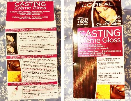 vopsea de păr semipermanent L'Oréal Paris Casting Crème Gloss